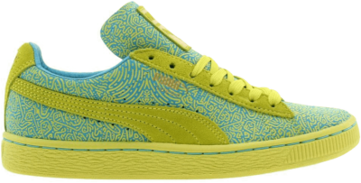 Puma Solange x Suede Classic Lines Yellow 358017-02