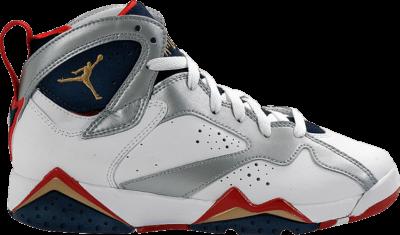 Air Jordan 7 Retro GS 'Olympic' 2012 White 304774-135