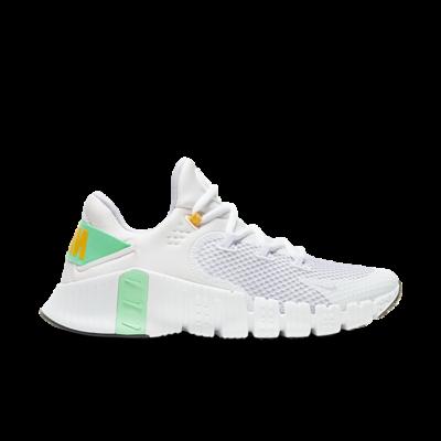 Nike Wmns Free Metcon 4 'White Green Glow' White CZ0596-135