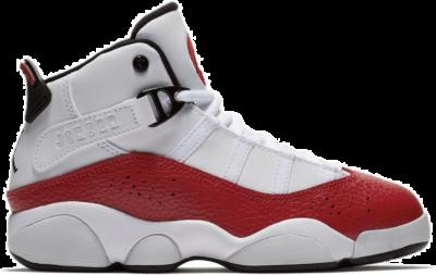 Jordan 6 Rings White University Red (PS) 323432-120