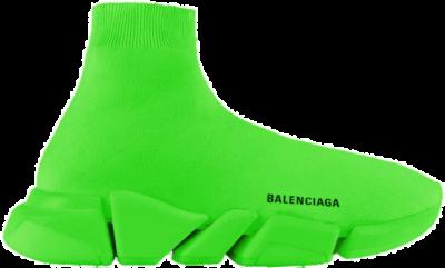 Balenciaga Speed 2.0 Fluo Green 617239W2DBH3000