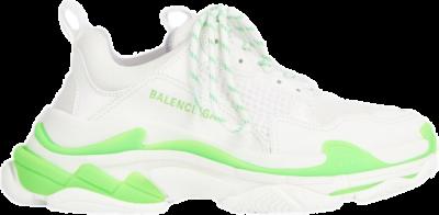 Balenciaga Triple S Fluo Green White 536737W2CA33890