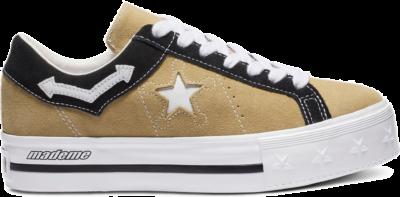 Converse One Star Platform Low MadeMe Brown (W) 563731C