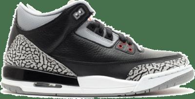 Jordan 3 Retro Black Cement 2011 (GS) 398614-010