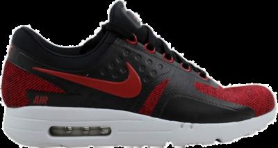 Nike Air Max Zero Se Black/Tough Red-Pure Platinum 918232-002