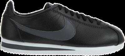 Nike Classic Cortez Leather Black/Dark Grey-White 749571-011
