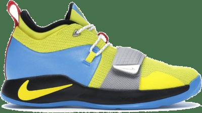 Nike PG 2.5 Opti Yellow Blue Hero (GS) BQ9457-740