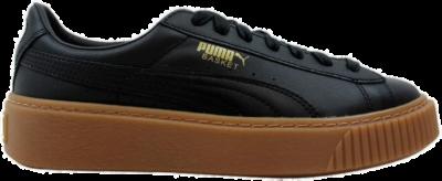 Puma Basket Platform Core Puma Black  (W) 364040-02