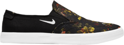 Nike Portmore 2 Solarsoft Slip 'Floral' Black AH3364-019
