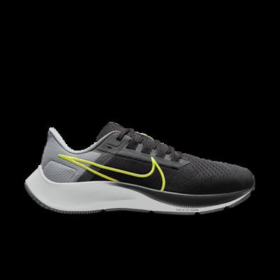 Nike Air Zoom Pegasus 38 Black Smoke Grey Volt CW7356-005