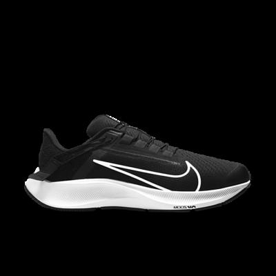 Nike Air Zoom Pegasus 38 FlyEase Extra Wide 'Black White' Black DA6678-001