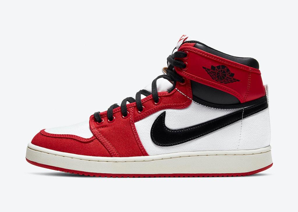 De Air Jordan 1 KO 'Chicago' heeft een releasedatum gekregen
