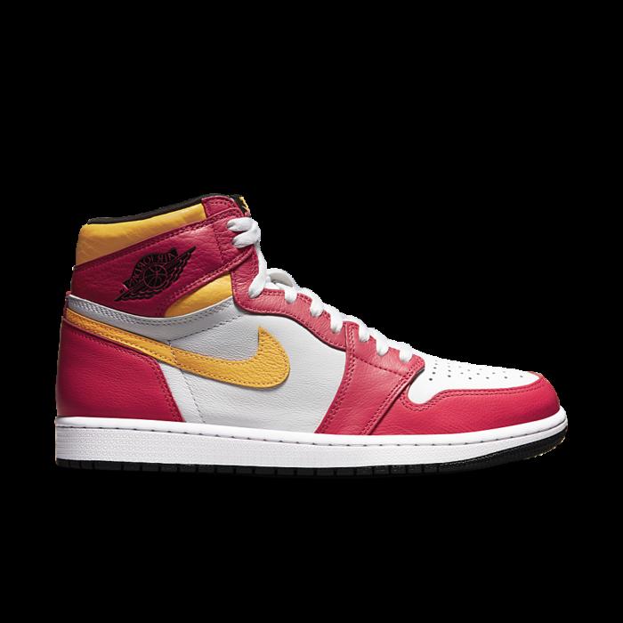 "Air Jordan 1 RETRO HIGH OG ""LIGHT FUSION RED"" 555088-603"