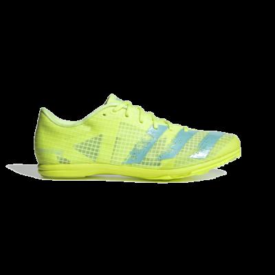 adidas Distancestar Atletiekschoenen Hi-Res Yellow FY1225