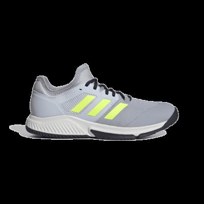 adidas Court Team Bounce Indoor Halo Silver FZ2614