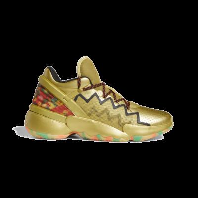 adidas D.O.N. Issue #2 Gummy Gold Metallic FV8963