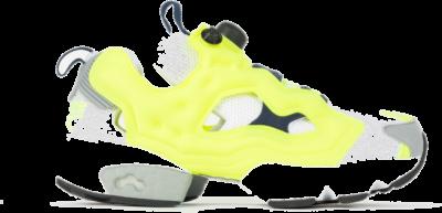 Reebok Instapump Fury Schoenen Solar Yellow / White / Collegiate Navy GZ3242