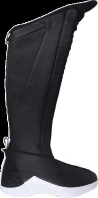 Jordan 15 Retro Boot PSNY Black Leather (W) 785563-154