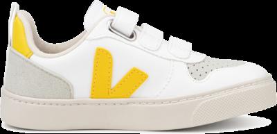 Veja V10 Velcro Junior White CXV072263