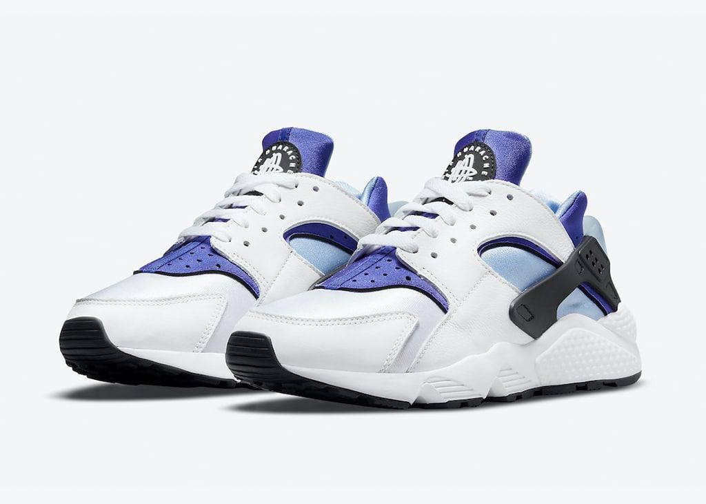 De Nike Air Huarache bestaat 30 jaar en dat viert Nike met de 'Concord' colorway