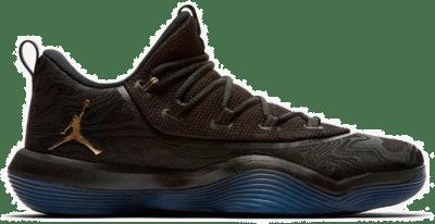 Jordan Basketball Jordan Super.Fly 2017 Low Zwart Goud  AA2547-021