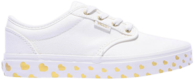 Vans Atwood Canvas Kids 'Gold Heart' White VN000ZUSQ5F