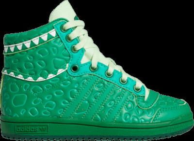 adidas Toy Story x Top Ten Hi Little Kid 'Rex' Green FZ4535