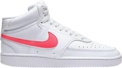 Nike Wmns Court Vision Mid 'White Flash Crimson' White CD5436-102