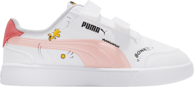 Puma Peanuts x Shuffle Little Kid 'Woodstock – White Apricot' White 375740-02