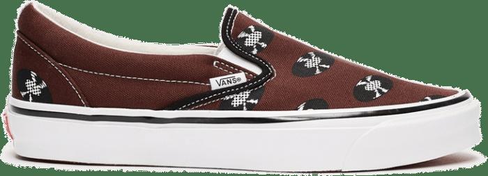 Vans Ua Og Classic Slip-on Lx x Wacko Maria Brown VN0A45JK595