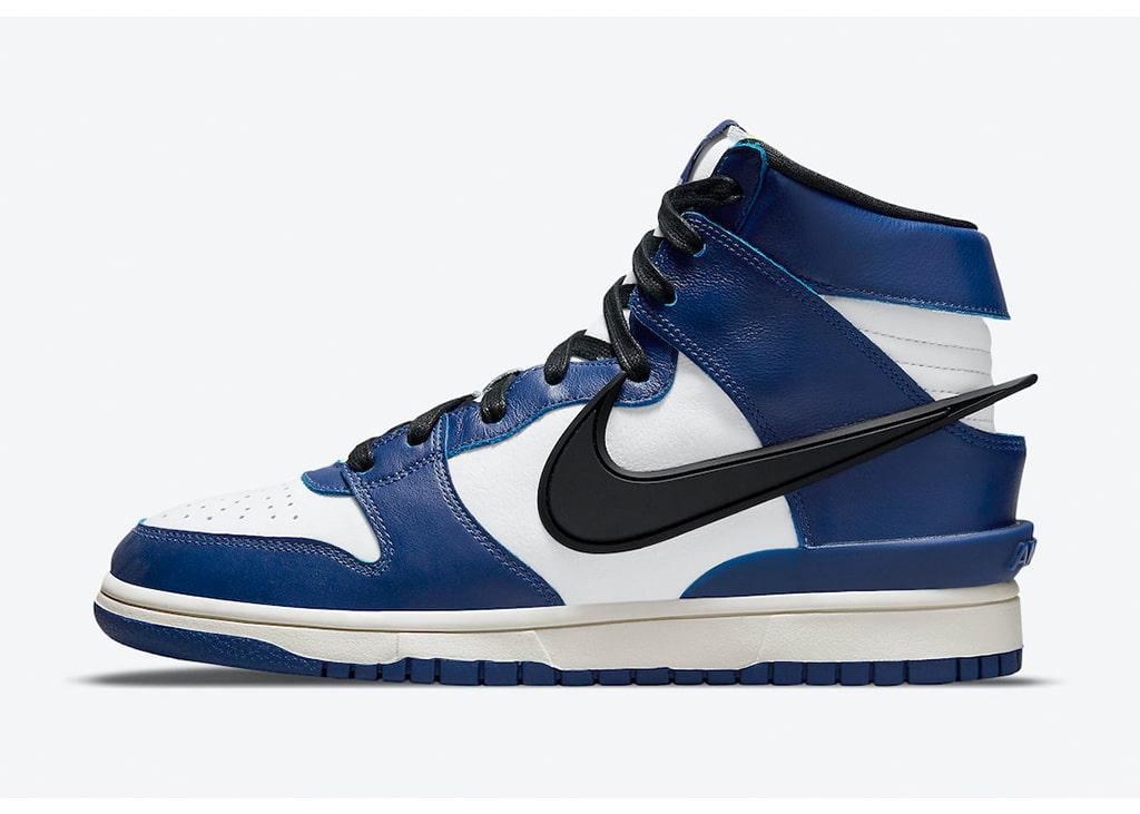 Officiële foto's gedropt van de nieuwe Nike Dunk High in samenwerking met AMBUSH