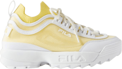 Fila Wmns Disruptor 2 Sock Monomesh 'Urban Outfitters Exclusive' Yellow 5XM00989-141