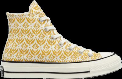 Converse Wmns Chuck 70 High 'Summer Spirit – Gold Dart' Yellow 571920C