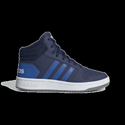 adidas Hoops 2.0 Mid Dark Blue EE6707