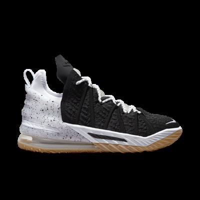 Nike LeBron 18 Black/White-Gum Med Brown Array CQ9283-007