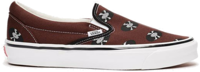 Vans UA OG Classic Slip-On LX x Wacko Maria 'Brown'  VN0A45JK595