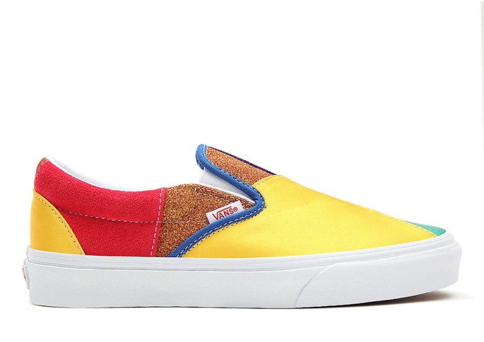Vans Classic Slip-On 'Pride – Patchwork' Multi-Color VN0A33TB44B