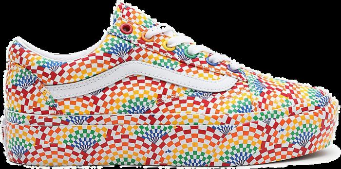 Vans Old Skool Platform 'Pride' Multi-Color VN0A3B3U3WJ