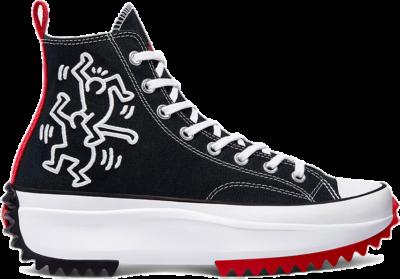 Converse Converse WMNS x Keith Haring Run Star Hike High Black Red (2021)  171859C-001