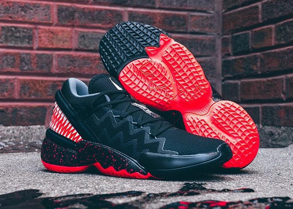 Nu beschikbaar: de zwart met rode Marvel x adidas D.O.N. Issue 2 'Venom'
