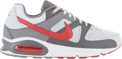 Nike Air Max Command 'Pure Platinum Gym Red' Grey 629993-049