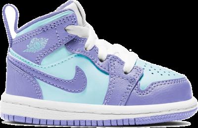 Jordan 1 Mid Purple Aqua (TD) 640735-500