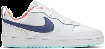 Nike Court Borough Low 2 White Navy (GS) BQ5448-112