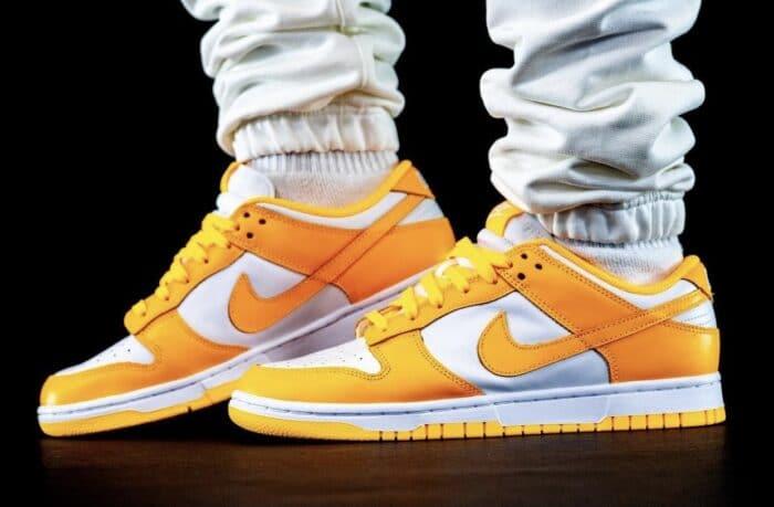 dunk low Nike Air laser orange