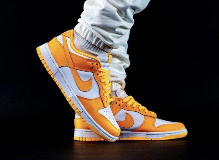 nike low dunk laser orange