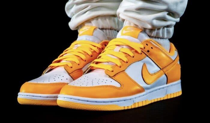 dunk low Nike Air orange