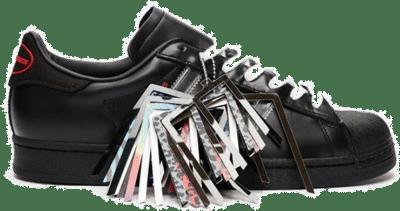 adidas Superstar x Pleasures Black GY5691