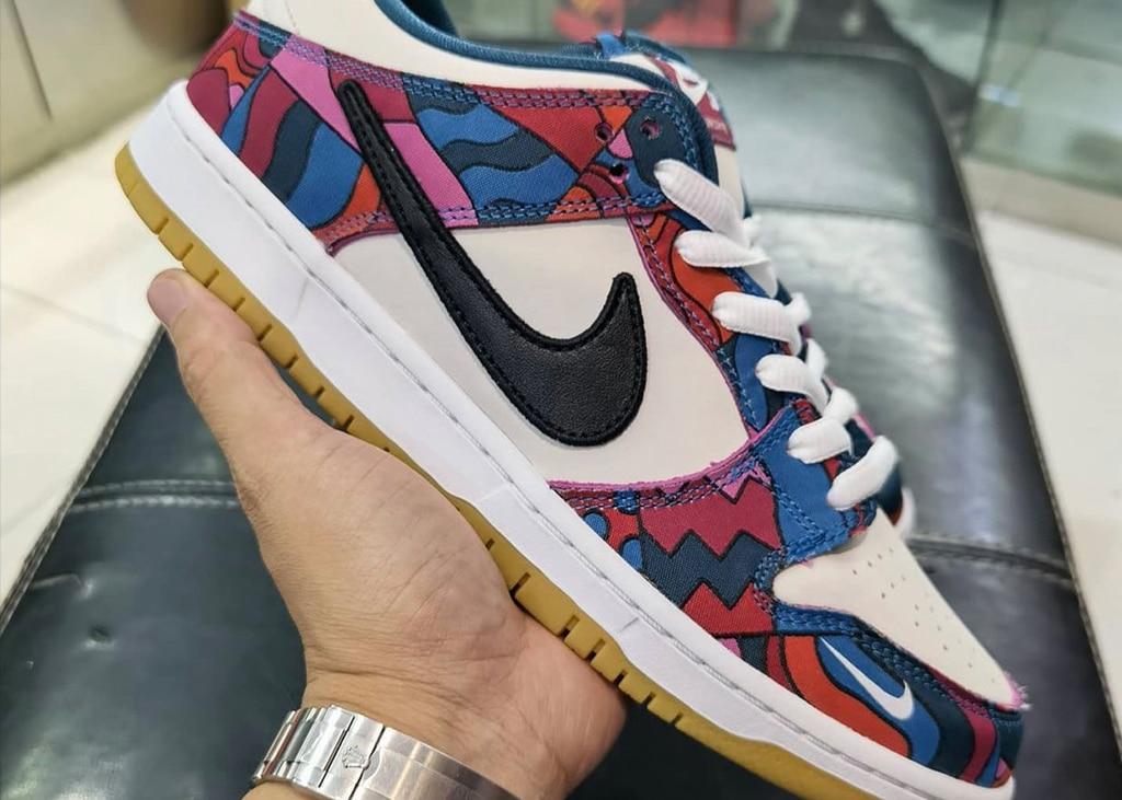 Nieuwe beelden opgedoken van de aankomende Piet Parra Nike SB Dunk Low