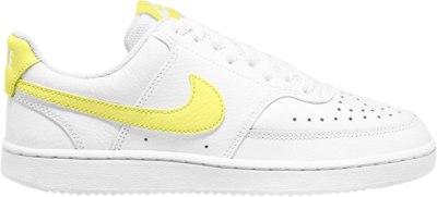 Nike Wmns Court Vision Low 'White Light Zitron' White CD5434-109