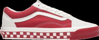 Vans OG Old Skool LX 'Bumper Cars – Marshmallow Cardinal' Red VN0A4P3X4O3